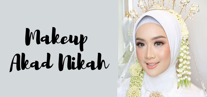 Make Up Akad Nikah Modern